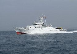 漁業取締船白鷺画像